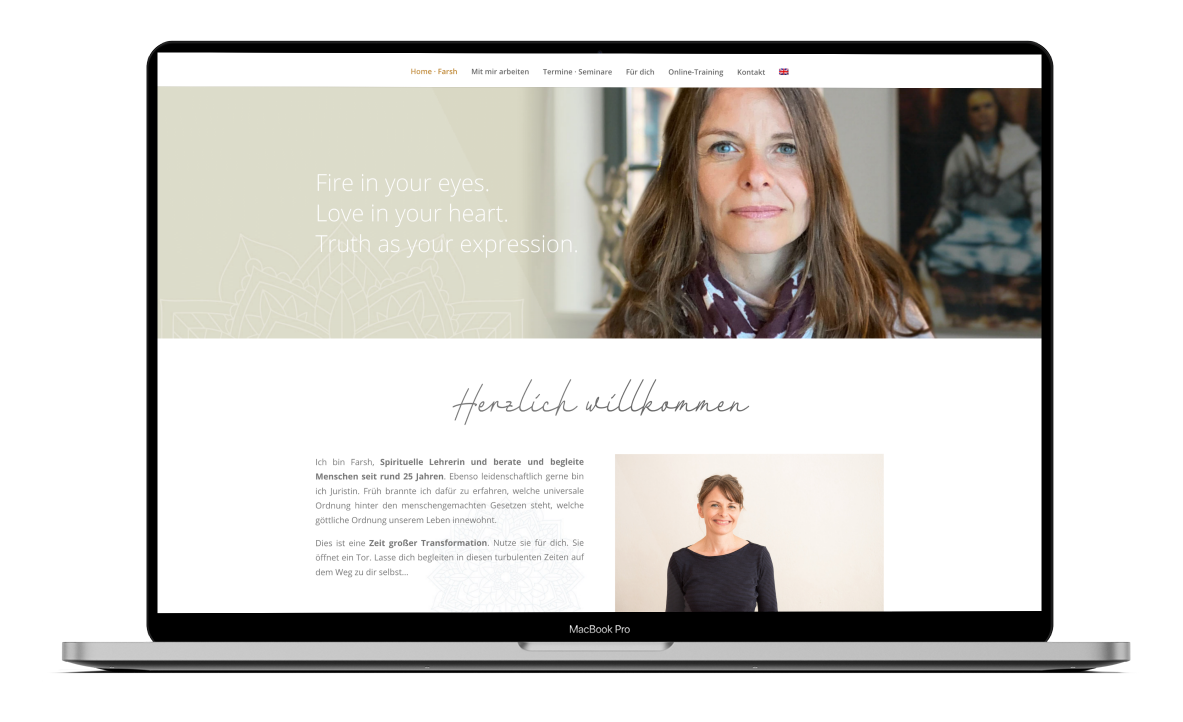 Sarah Baumgartner Webdesign Fotografie